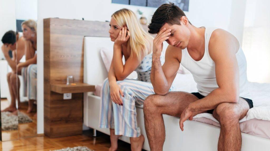 az erekció eltűnik a fáradtságtól