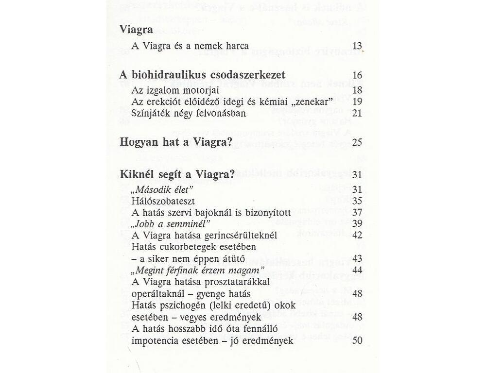 a pszichogén erekció hiánya)